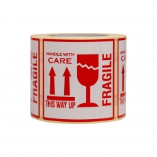 Etiketės Fragile/This way up 500 vnt/rul